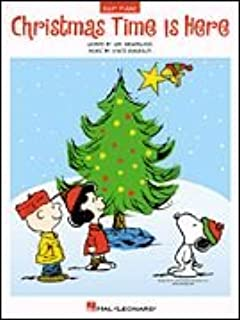 Christmas Time Is Here Easy Piano Sheet