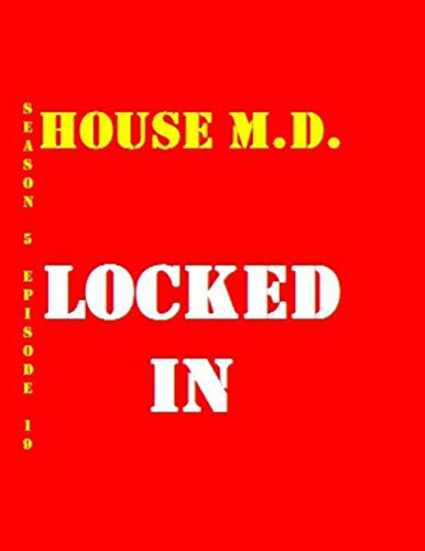 House M.D. Locked In Quotes Library Decorative Birthday Gift ( 110 Page Big Size ) Notebook Collection A decorative book for coffee tables, end ... design styling: Tv Show College Notebook