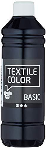 Diseño de fabricación de arte 100263 Producción de arte Diseño color textil, 500 ml volumen, negro