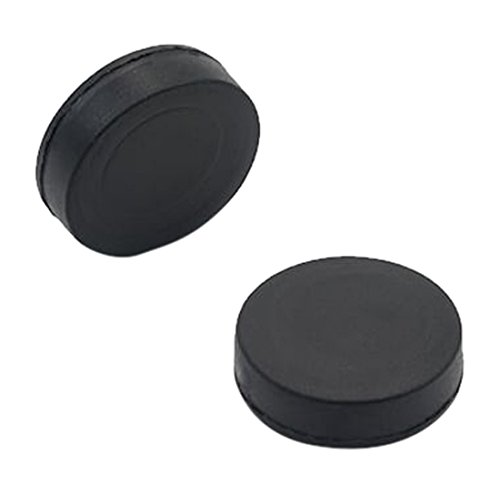 Magnet Expert® 21.5 mm Durchmesser x 6.1 mm dicker Gummi Beschichtete N42 Neodymium Magnet - 6.2kg Pull (2 Stück)