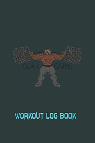 Workout log book: Your Fitness logbook Over 145 Days of Workout Tracking and Goal Setting. Easily Keep Track of Your Workouts and Body Measurements click to see more