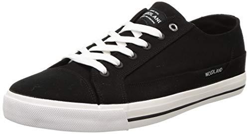 Woodland Men's Sneaker-9 UK (43 EU) (GC 3157418C_Black)