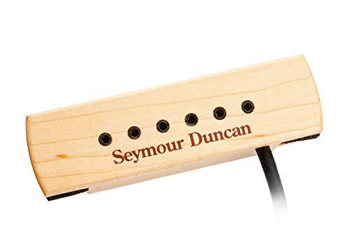 Seymour Duncan SA-3XL - Pastilla para caja de resonancia para guitarra acústica, color marrón y rosa