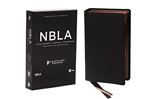 Compare Textbook Prices for NBLA Biblia Ultrafina, Letra Grande, Colección Premier, Negro Spanish Edition Large type / Large print Edition ISBN 0639390730572 by Vida,NBLA-Nueva Biblia de Las Américas