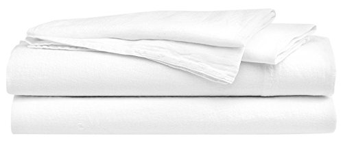 Hotel Sheets Direct 100% Bamboo 4 Piece Bed Sheet Set - Hypoallergenic - Eco Friendly - Cooling Sheets - Soft as Silk - 4 Piece Set (Fitted Sheet, Flat Sheet, 2 Pillowcases) (Queen, White)