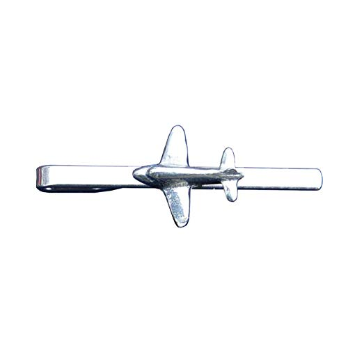 Alfiler de Corbata Avión DC3, Hecho a Mano por William Sturt en Francia