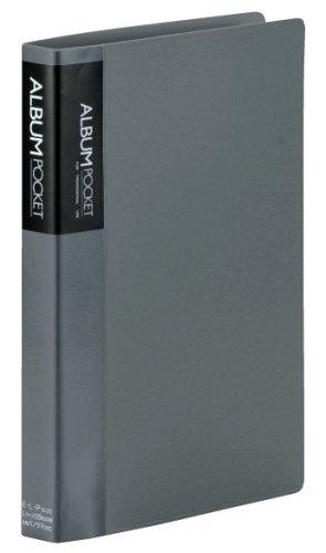 SEKISEI アルバム ポケット カケルアルバム バインダー式 Lサイズ 120枚収容 L 101~150枚 グレー XD-120LP