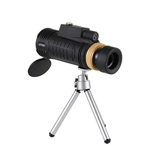 Telescope, 18x62 Single-Tube Compass Telescope Mobile Phone Camera Children's High-Definition Night Vision Mini Telescope, Waterproof, Portable Telescope for Beginners and Kids