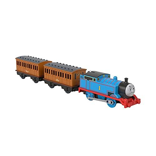 Il Trenino Thomas-Gli Indimenticabili Locomotiva Motorizzata Thomas con Annie e Clarabe Giocattolo per Bambini 3+Anni, GHK82