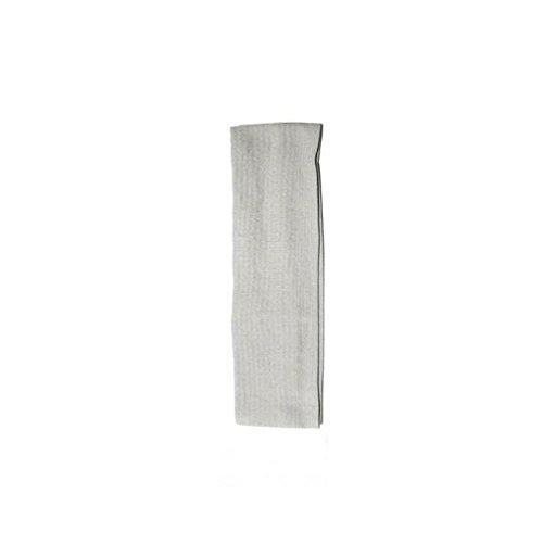 Bandeau cheveux uni gris souris 5.5 cm