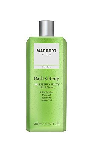 Marbert Bath & Body I love Refresh'n Fruity Kiwi & Guave Duschgel, 1er Pack (1 x 400 ml)