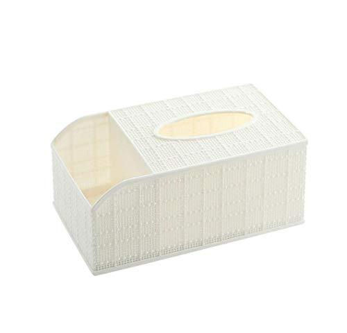 esealainjz Nordic Desktop Tissue Box Fernbedienung Aufbewahrungsbox Home Living Toom Couchtisch Teiler Kunststoffschale