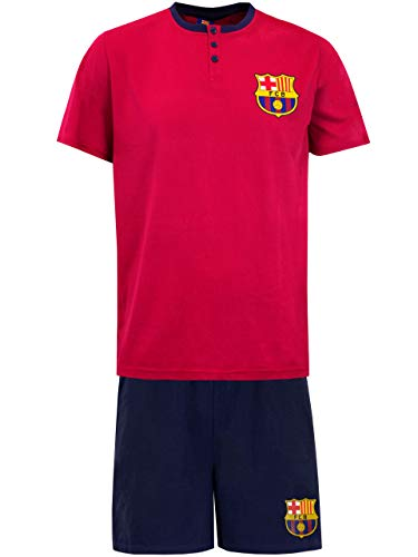 Premier League Hombre Manchester United Football Club Pijama Rojo / Negro Talla