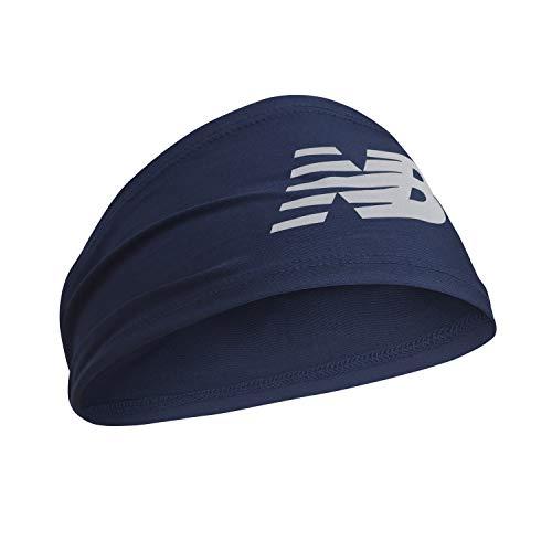 New Balance Men's and Women's Skull Cap Beanie, Athletic Headband, Blue