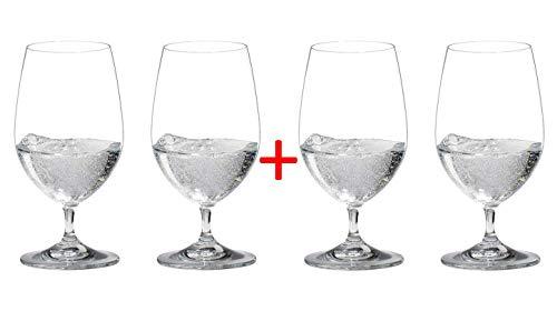 RIEDEL Vinum Gourmet Glas 4 Gläser,...