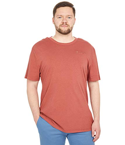 Champion Lightweight tee Camiseta, Vintage Dye Sanguine Chalk Red, M para Hombre