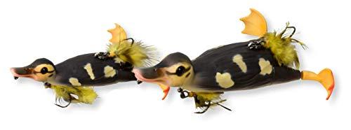 Savage Gear 3D Suicide Duck Wobbler Ente, Entenköder, Angelköder für Hecht, Hechtköder, Enten Jerkbait, Welsköder, Wallerköder, Farbe:Natural, Länge/Gewicht:10.5cm - 28g