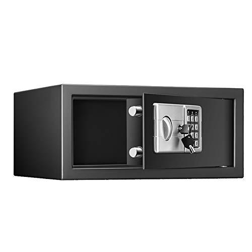 Brandvrije kluis Safe And Lock Box, een kluis en Lock dozen, Spaarpot, kluisjes for thuisgebruik, Digital Safe Box Veilig thuis (Color : Black, Size : 43x26x20cm)