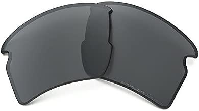 Oakley AOO9188LS Flak 2.0 XL Rectangular Replacement Sunglass Lenses, Prizm Black Iridium Polarized, 59 mm