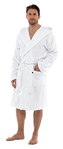 Sterke Zielen Handdoek voor Mannen 100% Katoen Badjas Badjas Badjas Jongens Tieners Gym Douche Spa Hotel Holiday Robe Housecoat + Riem