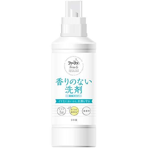 ファーファ フリー&超コンパクト液体洗剤 無香料 本体 500g