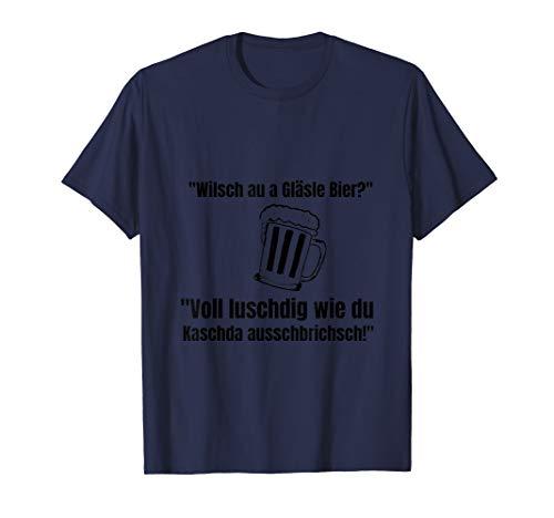 Gläsle Bier - Für alle Schwaben die gerne ein Bier trinken T-Shirt