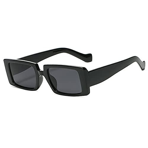 MYJOYSUE Gafas de Sol rectangulares para Mujer Gafas de conducción Retro 90's Moda Vintage Marco Cuadrado Estrecho Protección UV400