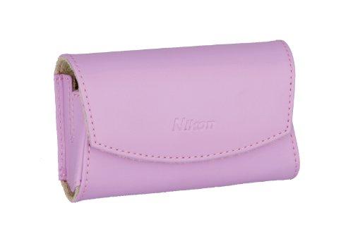 Nikon CS-S17 Ledertasche für Nikon Coolpix S3000/S4000 pink