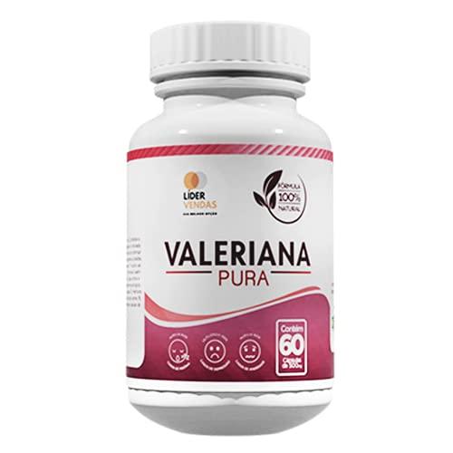 Valeriana Pura 500mg, 60 Cápsulas   Legítimo Calmante Natural