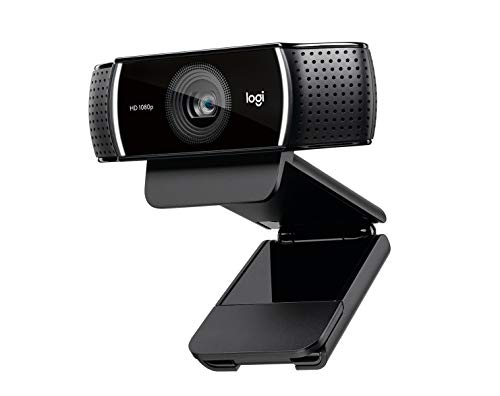 Logitech C922 Pro Stream Webcam - 1080p, schwarz