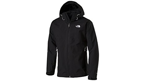 The North Face Herren Regen/Shell-jacke Hortons Regenjacke, Tnf Black, L