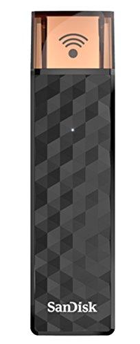 Sandisk Connect Wireless Stick da 32 GB, Nero