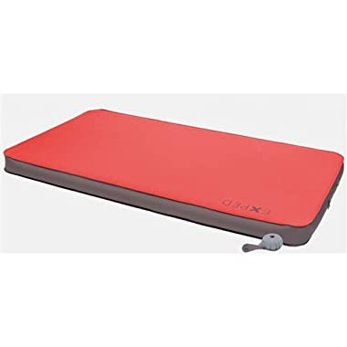 Exped MegaMat Duo 10 Self-Inflating Sleeping Pad, Ruby Red, Medium