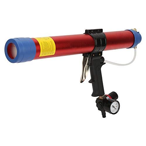 Pistola selladora neumática, pistola de aire, profesional para decoración arquitectónica, hardware arquitectónico con indicador de velocidad