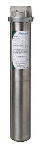 3M Aqua-Pure Whole House Standard Diameter Stainless Steel Filter Housing, Model SST2HB