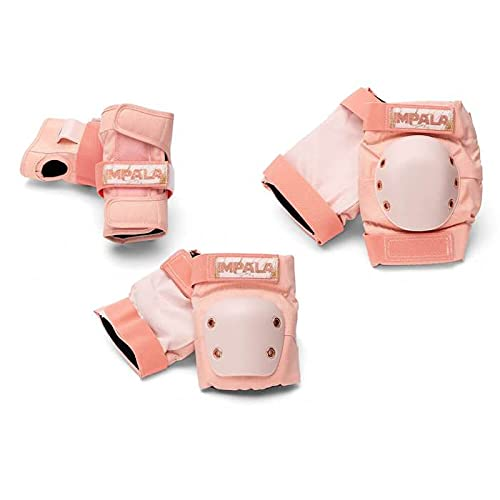 Impala Rollerskates Protective Set for Women, Marawa Rose Gold (Pink), M