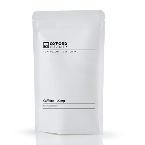 caffeine 100mg tablets supplements for