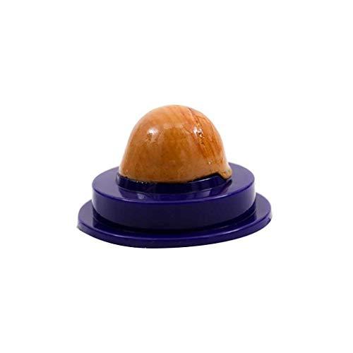 fgyhtyjuu 1pcs / 2pcs del Gato del Gel de la Bola de la Hierba gatera azúcar Nutre sólidas de Bolas de Nutrición Dentro Gatito Snacks Pet Food