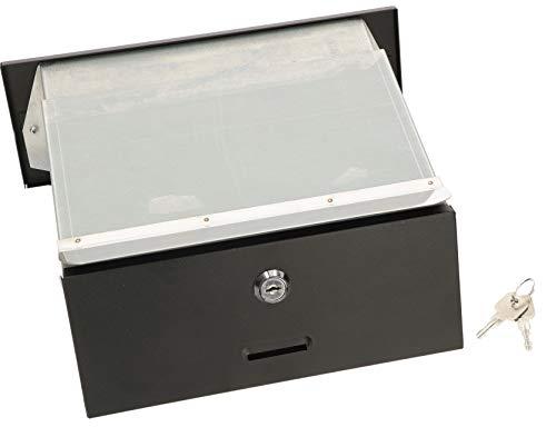 KOTARBAU, cassetta delle lettere con profondità regolabile 160-295 mm, cassetta delle lettere da...
