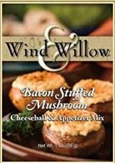 Wind & Willow Bacon Stuffed Mushroom Cheeseball Mix (4 Pack)