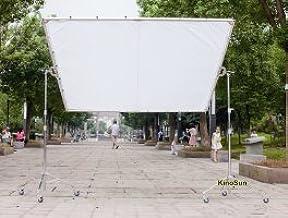 KINOSUN 1.8x1.8m 6x6 6x6 White Silk Cloth for Lighting Diffusion