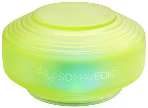 Somavedic Medic Green Ultra - Fatiga crónica, agotamiento, fatiga física. Armonizador de agua, latidos cardíacos irregulares, protección de CEM, científicamente comprobado, certificado por IGEF