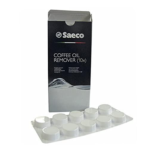 Saeco 141650100 oryginalne tabletki czyszczące tabletki do usuwania tłuszczu, roztwór tłuszczu do kawy, w pełni automatyczny ekspres do kawy, sitko, termos również Philips 996530066831