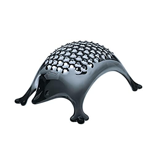 koziol KASIMIR Hedgehog Cheese Grater, transparent anthracite