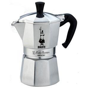 コーヒーメーカー(モカ エキスプレス) 2カップ用【BIALETTI(ビアレッティ)/MOKA EXPRESS 2cup用】 1168 ds-1656167