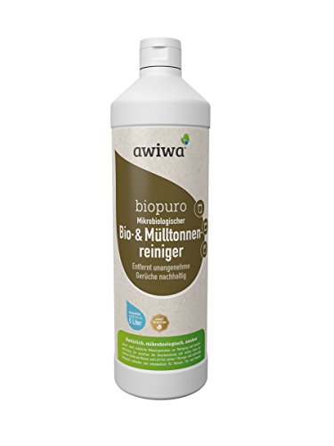 awiwa Mülltonnenreiniger & Geruchsneutralisierer Mülleimer + Biotonne Reiniger