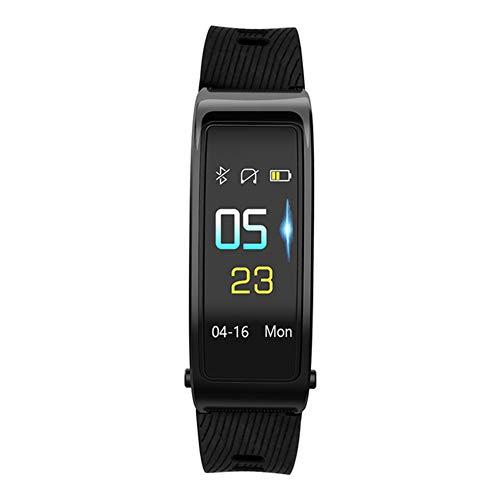 Pc-Hxl Smart Polsband Bluetooth Headset Pedometer Horloge Volledige Touch Screen SMS Oproep Herinnering Hartslagmeter Activiteit Trackers Slaap Monitor USB Opladen Fitness Horloge Geschikt voor Kinderen Vrouwen Mannen