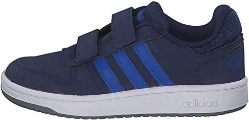 Adidas Hoops 2.0 CMF C, Zapatillas de Baloncesto Unisex niño, Multicolor (Azuosc/Azul/Gritre 000), 32 EU