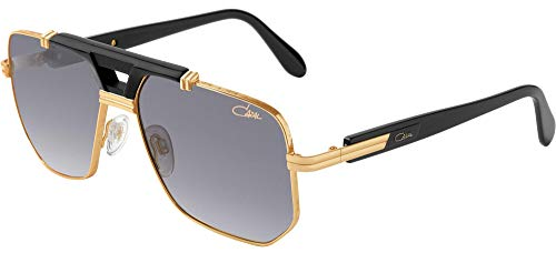 CAZAL Gafas de Sol LEGENDS 990 BLACK KT GOLD/GREY 59/15/140 hombre