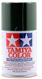 Tamiya Ps-22 Racing Green Lexan Spray Paint 3oz tam86022
